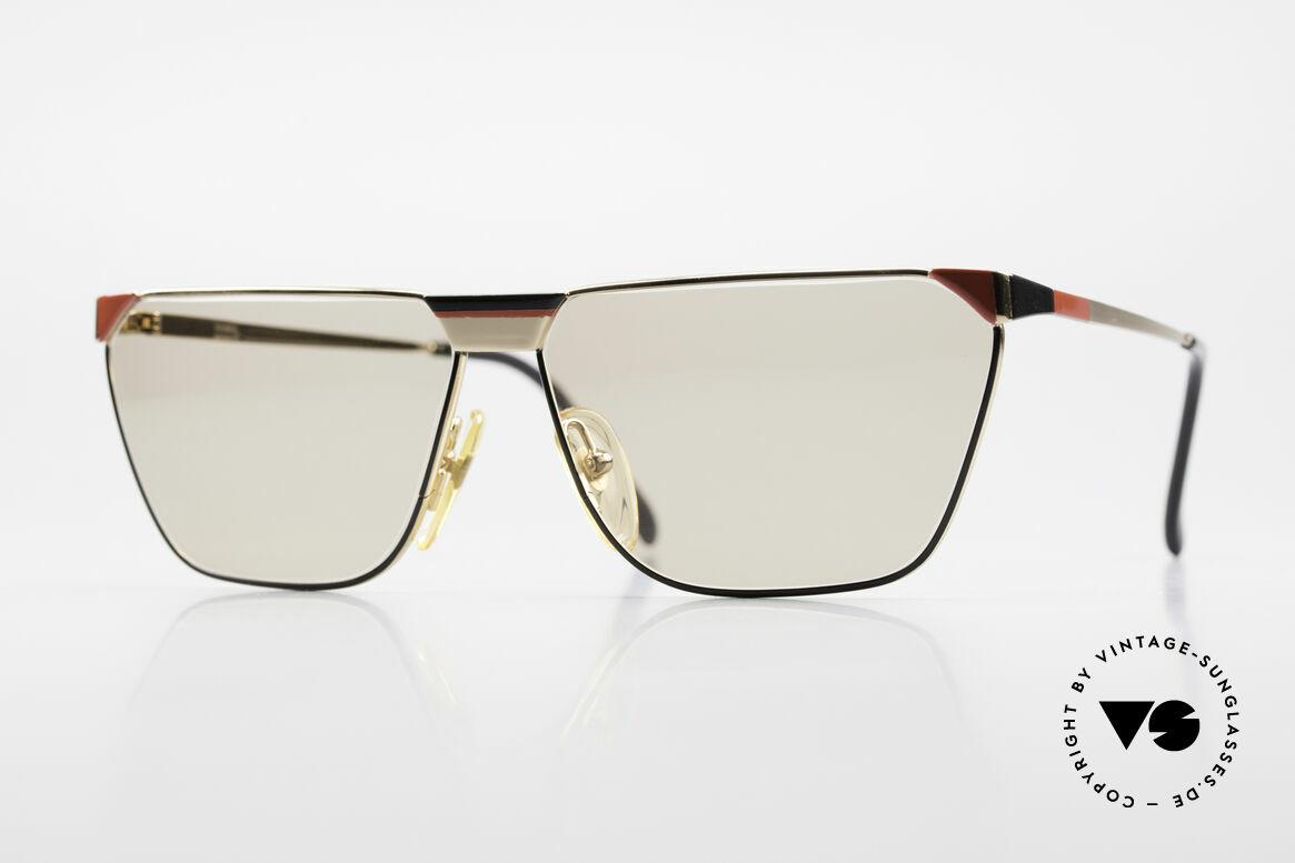 Casanova MC2 24KT Gold Plated Frame, rare vintage Casanova sunglasses from the 1980's, Made for Men