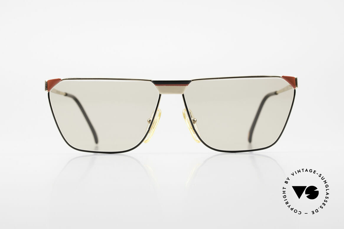 Casanova MC2 24KT Gold Plated Frame, stylish, square-cut model - simple but distinctive, Made for Men