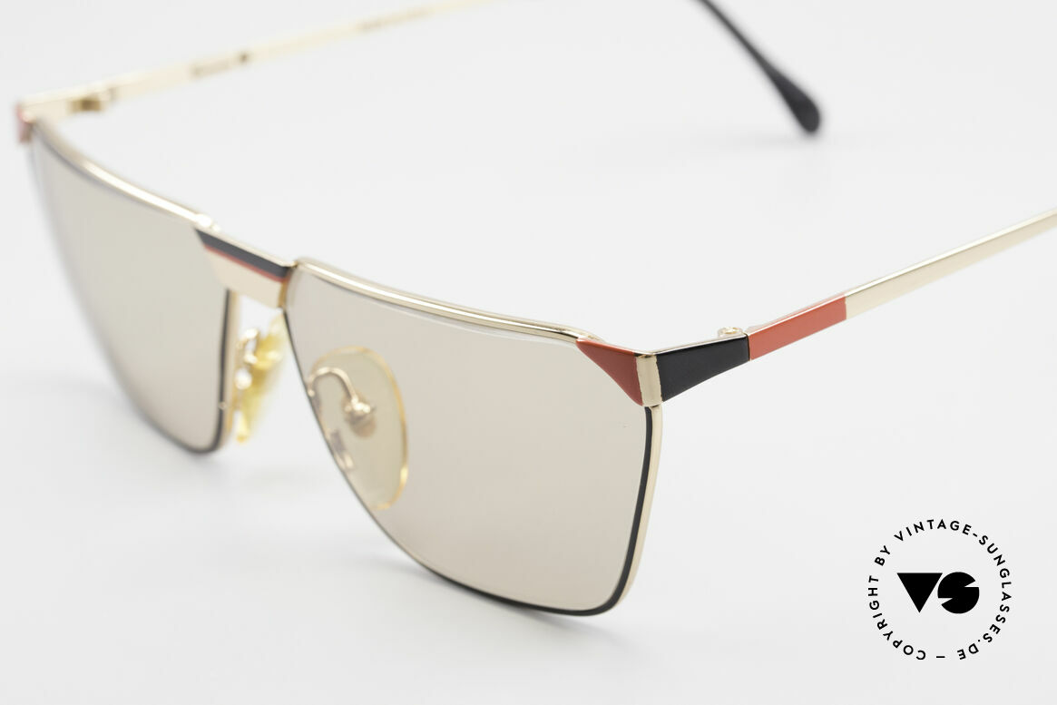 Casanova MC2 24KT Gold Plated Frame, unworn (like all our valuable old 80's sunglasses), Made for Men