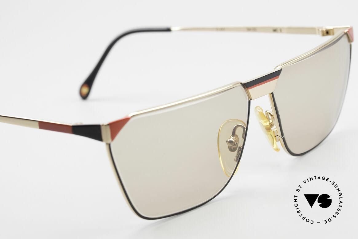 Casanova MC2 24KT Gold Plated Frame, NO RETRO glasses, but a precious vintage original, Made for Men