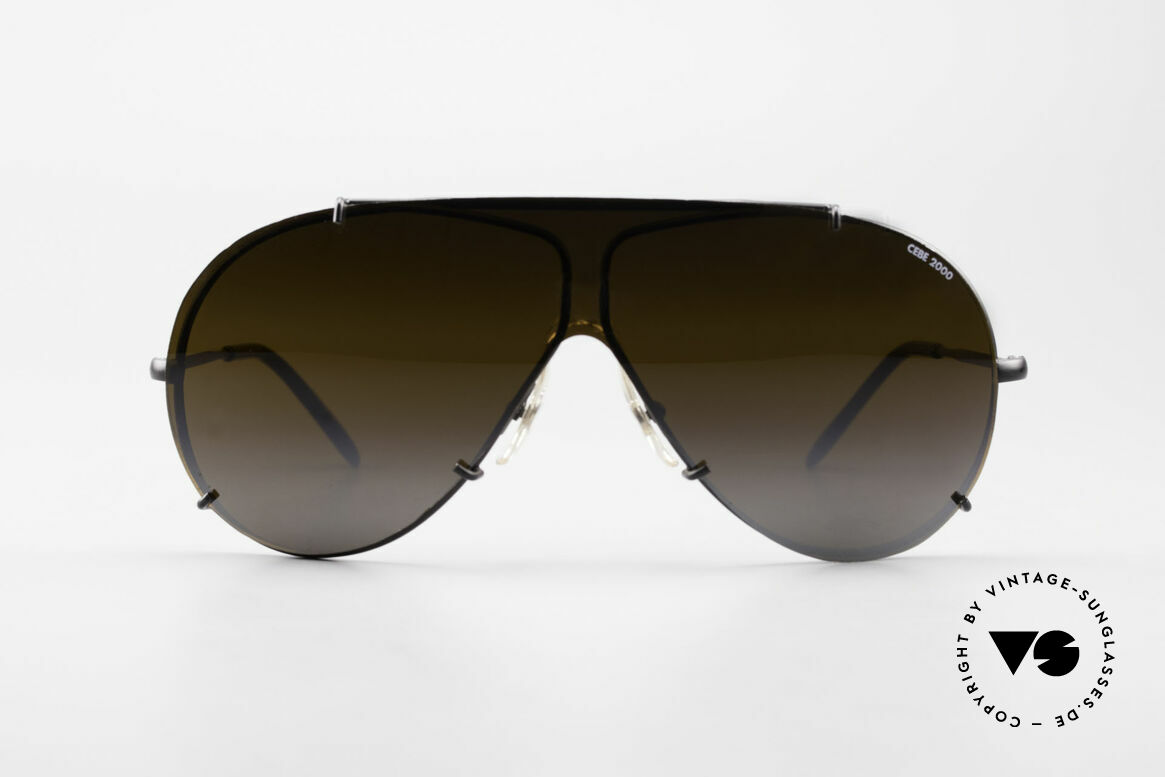 Cebe 2000 Rare Ral­lye Sports Sunglasses, engineered for the drivers of the PARIS-DAKAR-RALLYE, Made for Men