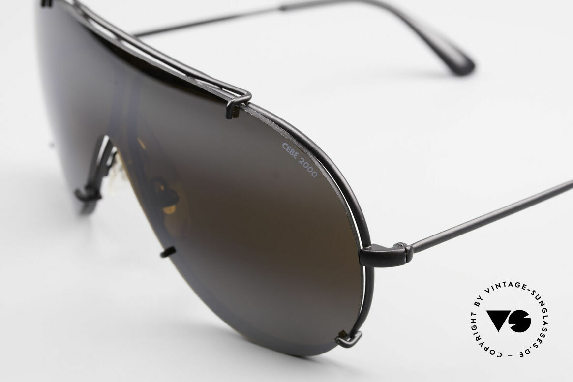 Cebe 2000 Rare Ral­lye Sports Sunglasses, the frame could be glazed with prescription lenses, too, Made for Men