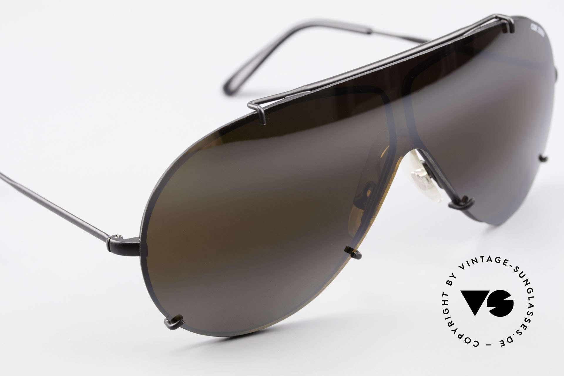 Cebe 2000 Rare Ral­lye Sports Sunglasses, NO retro shades; but an ingenious 30 years old original!, Made for Men