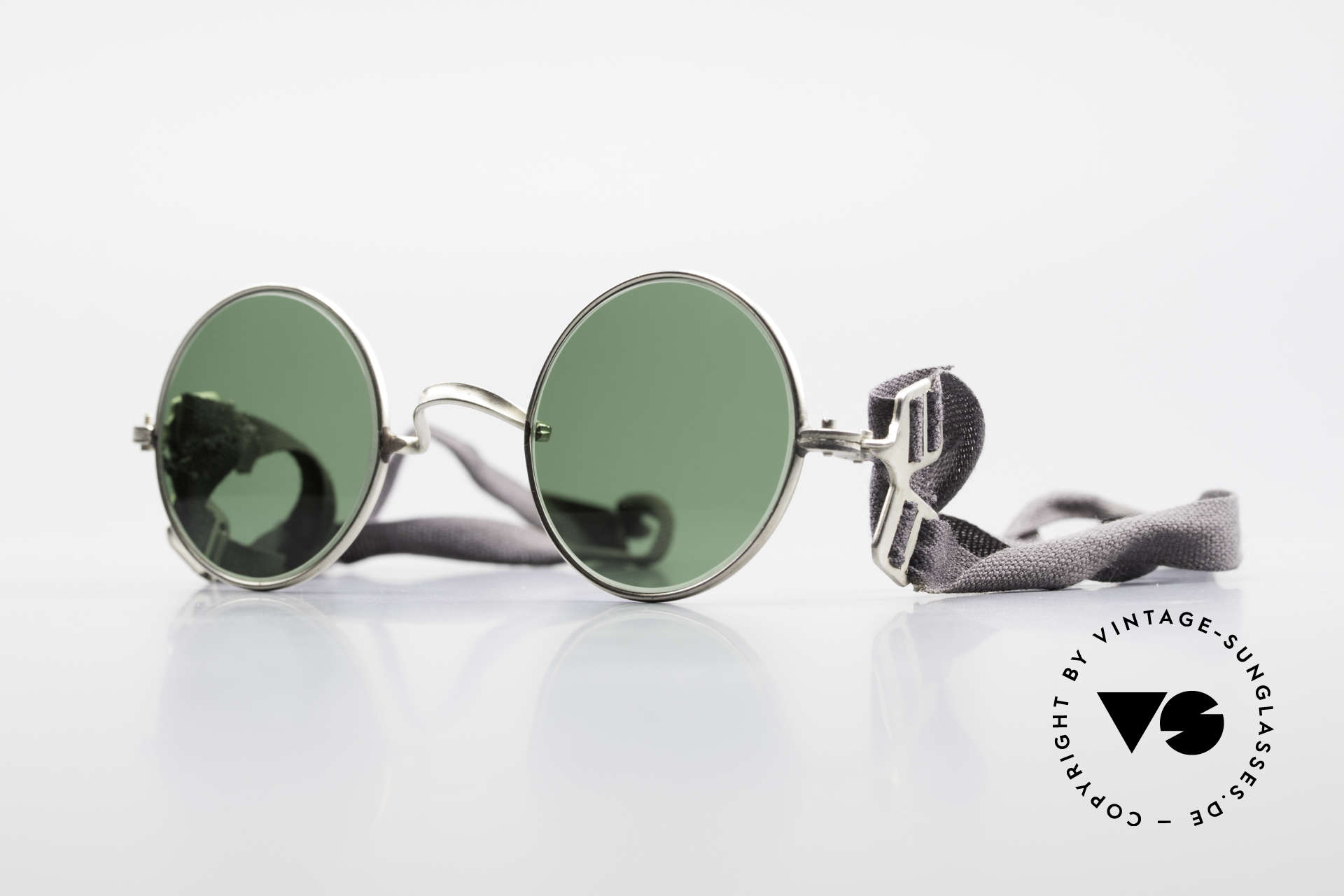 Militärbrille Round Old Army Military Sunglasses, old, antique army sunglasses from the 1960's, Made for Men