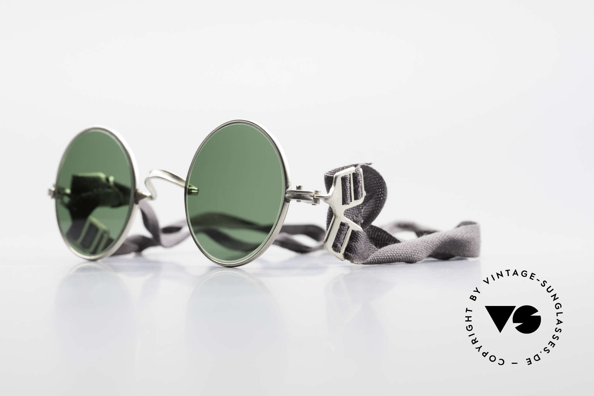 Militärbrille Round Old Army Military Sunglasses, rather FUN sunglasses for a steampunk outfit, Made for Men