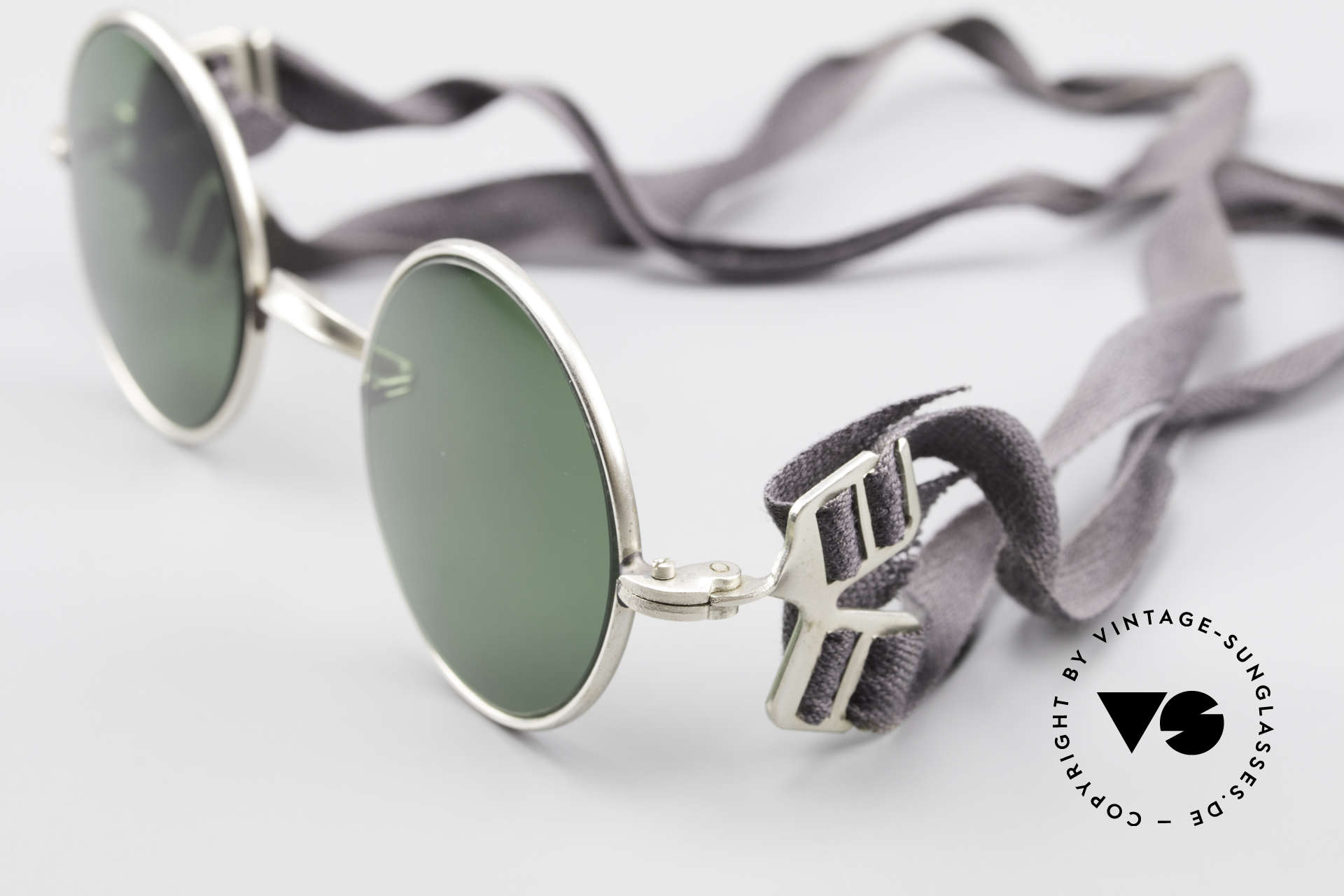 Militärbrille Round Old Army Military Sunglasses, 2nd hand model with new lenses and hard case, Made for Men