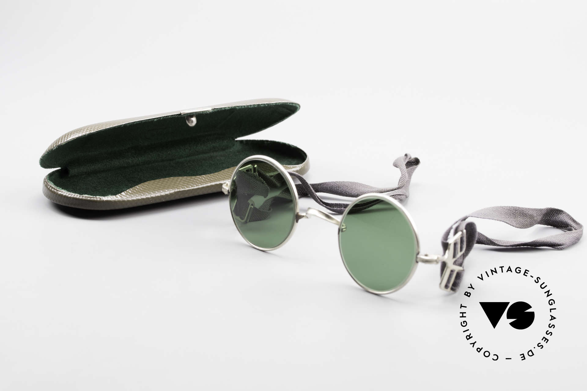 Militärbrille Round Old Army Military Sunglasses, Size: extra small, Made for Men
