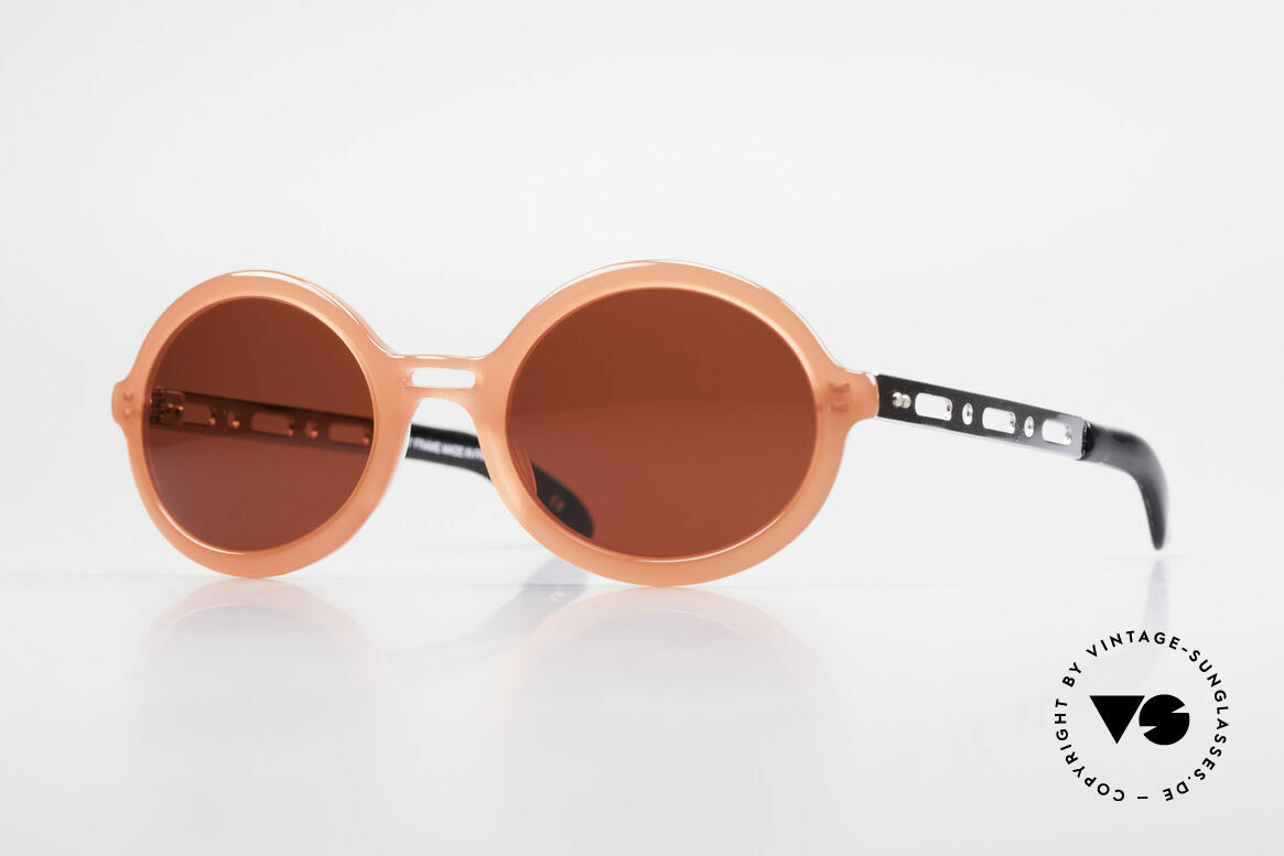 IDC I067 Fun Sunglasses Steampunk 90s, 'spacy' vintage designer sunglasses by IDC, France, Made for Women