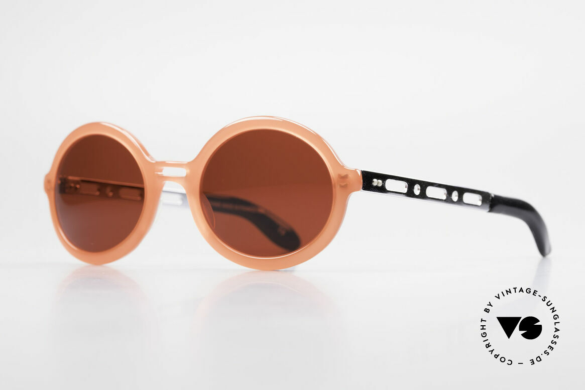 IDC I067 Fun Sunglasses Steampunk 90s, but the flashy sun lenses can be replaced optionally, Made for Women