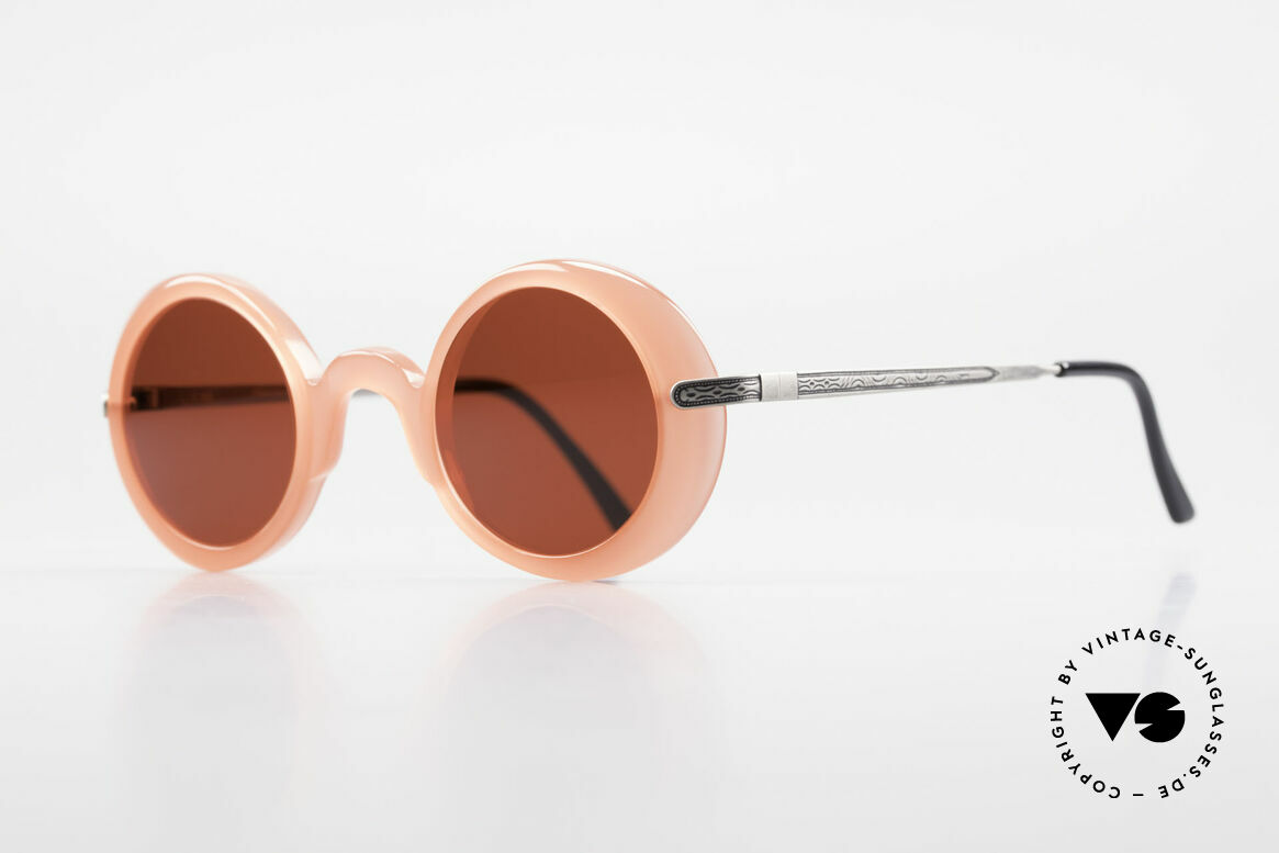 IDC I025 90's Fun Sunglasses Steampunk, but the flashy sun lenses can be replaced optionally, Made for Women