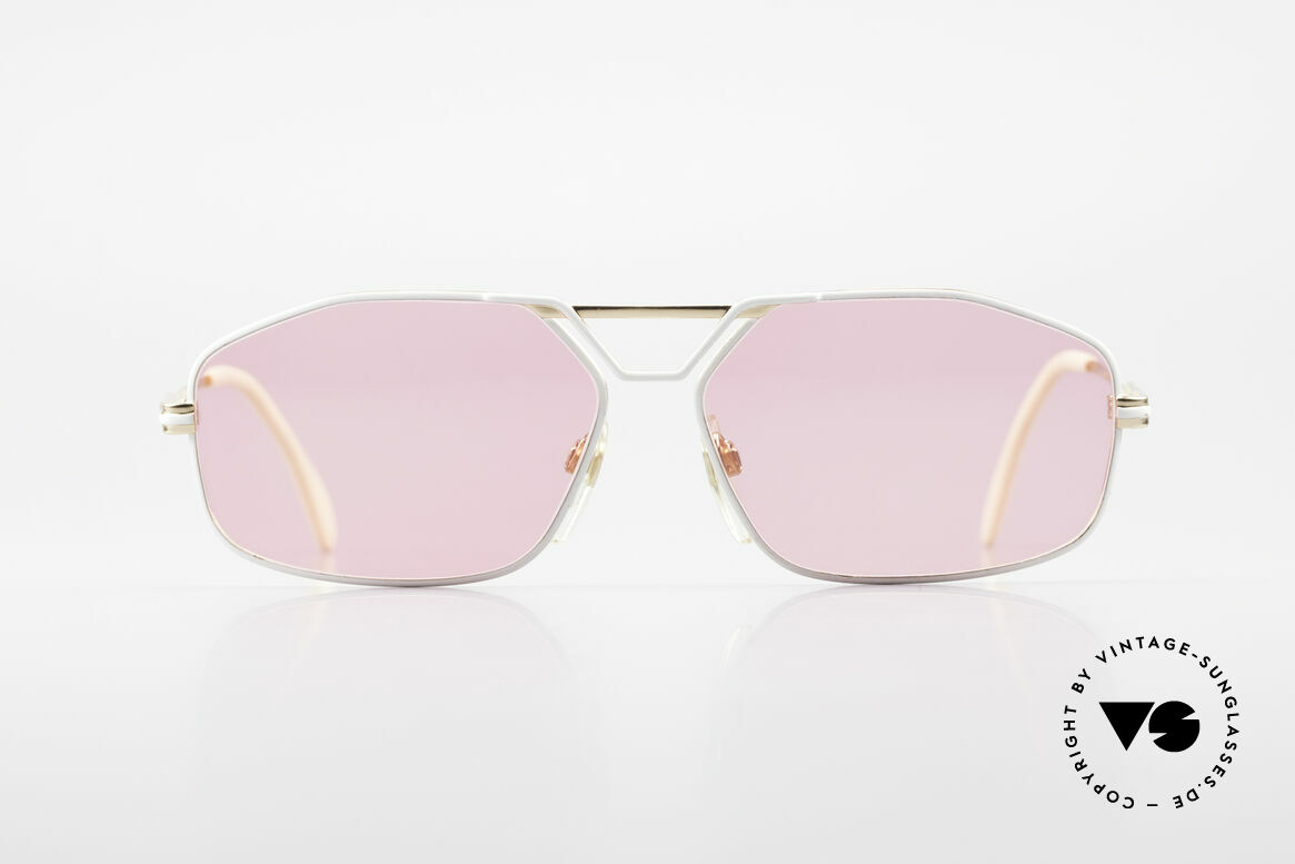 Cazal 729 Pink Vintage Sunglasses 80's, very masculine Cazal sunglasses from app. 1989/90, Made for Men
