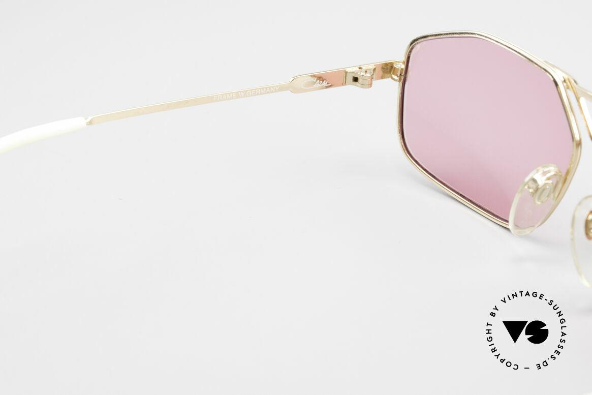 Cazal 729 Pink Vintage Sunglasses 80's