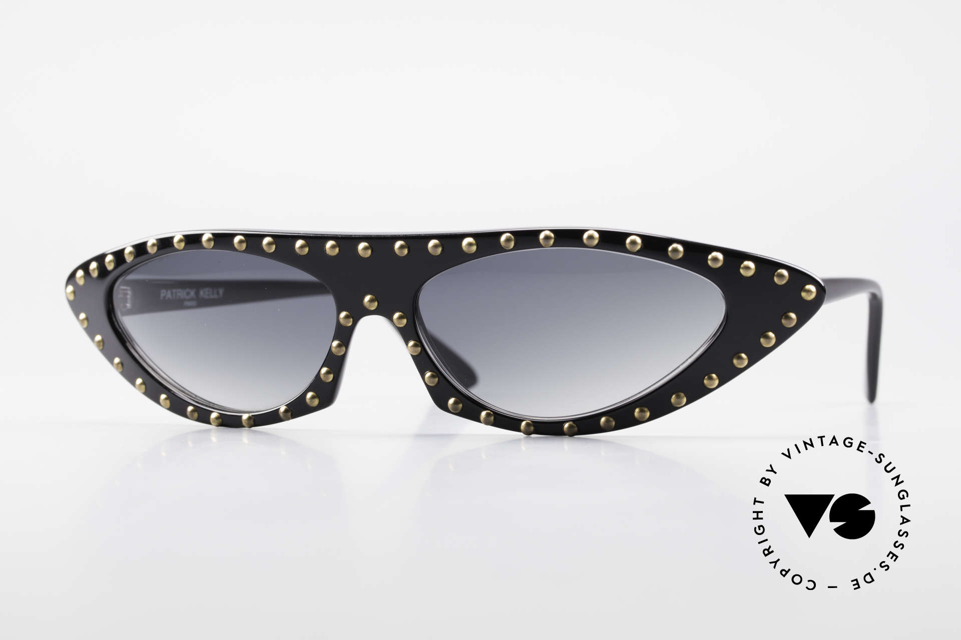 Patrick Kelly Pirate 22 80's Haute Couture Shades, rare Patrick Kelly Pirate 1980er designer sunglasses, Made for Women