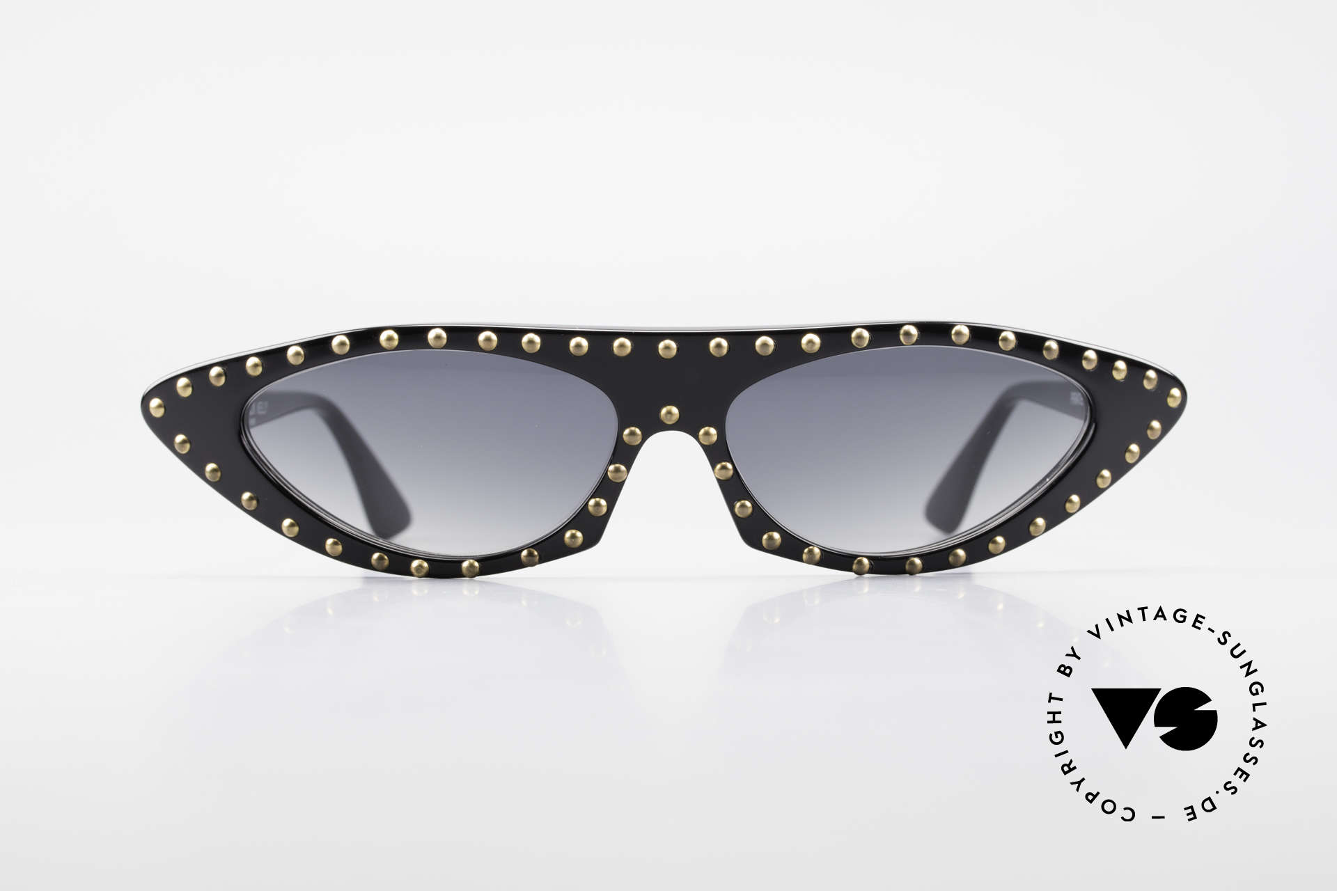 Patrick Kelly Pirate 22 80's Haute Couture Shades, truly; vintage INSIDER sunglasses, because fanciers, Made for Women