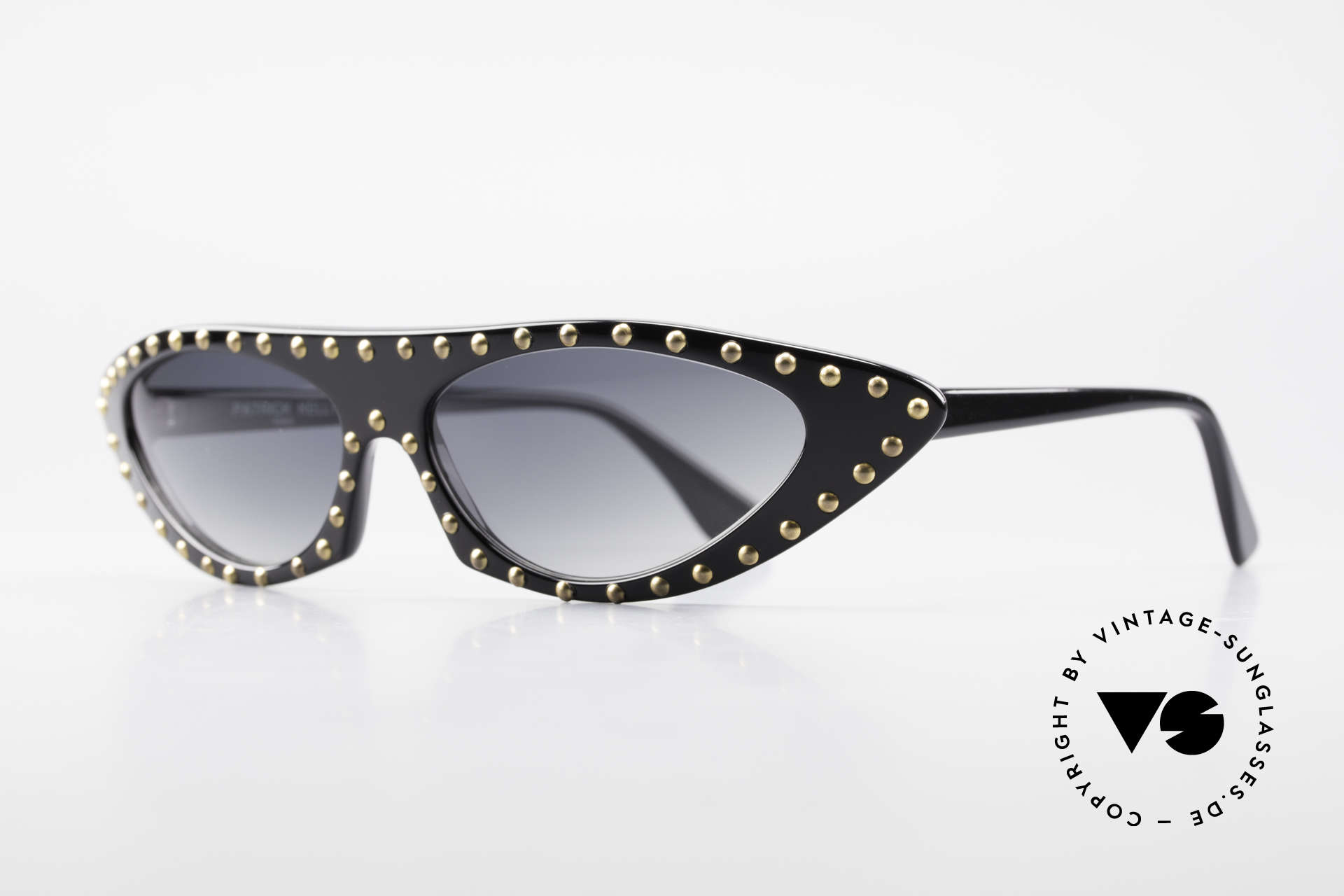 Patrick Kelly Pirate 22 80's Haute Couture Shades, know his influence on the FRENCH HAUTE COUTURE, Made for Women