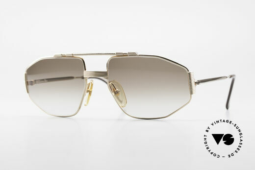 Christian Dior 2516 80's Gold Plated Sunglasses Details