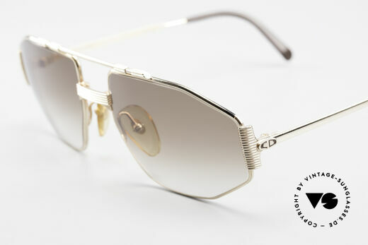 Christian Dior 2516 80's Gold Plated Sunglasses