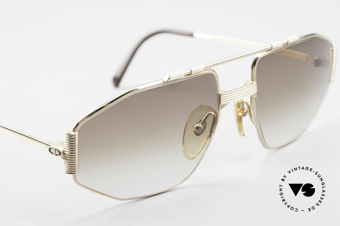 Christian Dior 2516 80's Gold Plated Sunglasses, NO RETRO SUNGLASSES, but an old Dior ORIGINAL, Made for Men