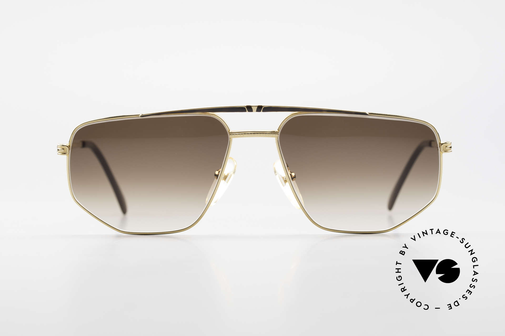 Roman Rothschild R1037 Gold Plated Luxury Shades, all frames by Rothschild are 18Kt or 20Kt gold-plated, Made for Men