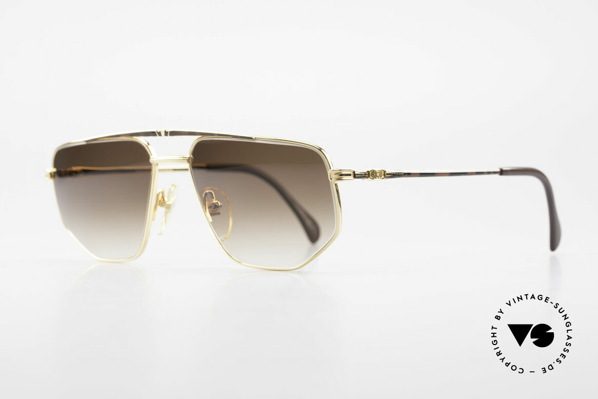 Roman Rothschild R1037 Gold Plated Luxury Shades, high-end quality (You must feel this!); made in Japan, Made for Men