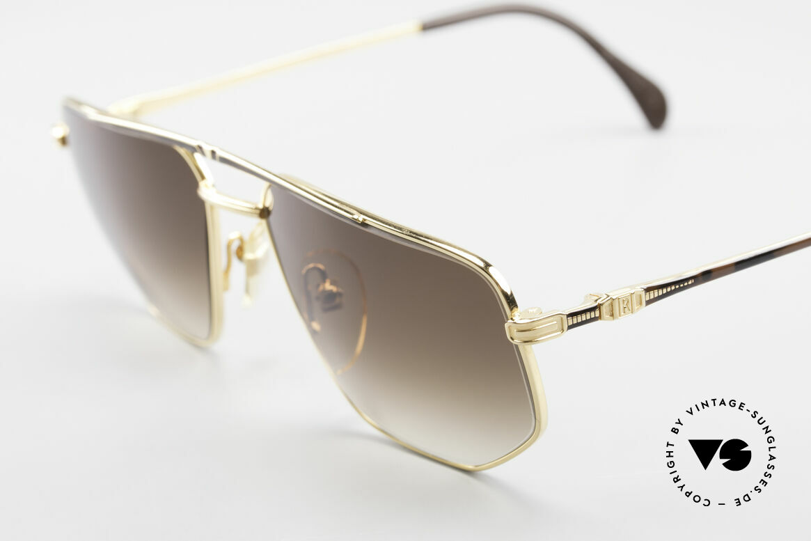 Roman Rothschild R1037 Gold Plated Luxury Shades, NO retro shades, but a precious original from the 80's, Made for Men