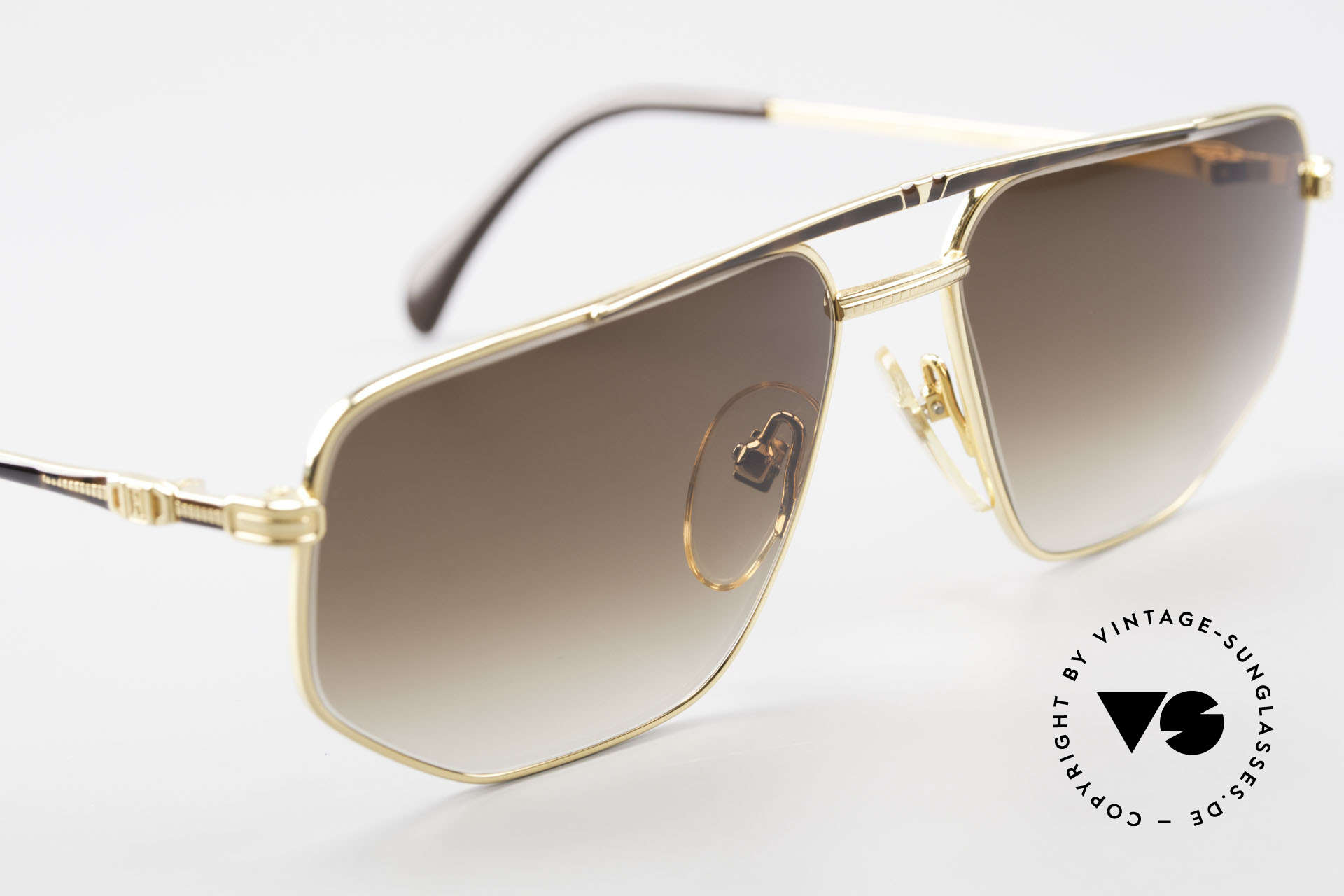 Roman Rothschild R1037 Gold Plated Luxury Shades, sun lenses (100%UV) can be replaced with prescriptions, Made for Men