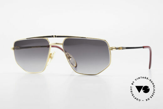 Roman Rothschild R1037 Gold Plated Shades Luxury Details