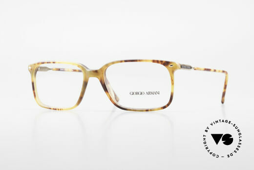 Giorgio Armani 332 True Vintage Eyeglass Frame Details