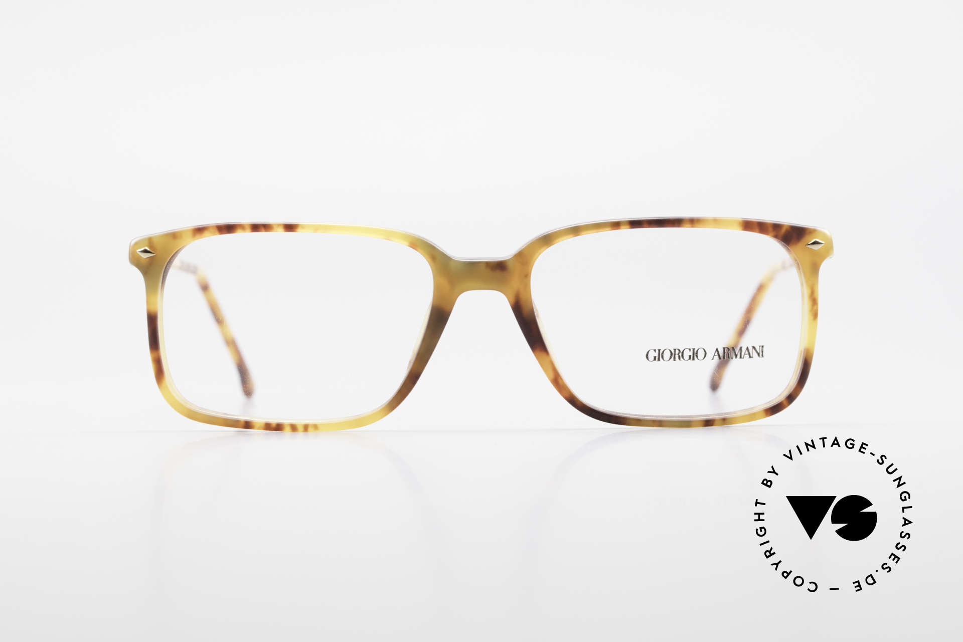 Giorgio Armani 332 True Vintage Eyeglass Frame, classic, timeless, elegant = characteristic of GA, Made for Men