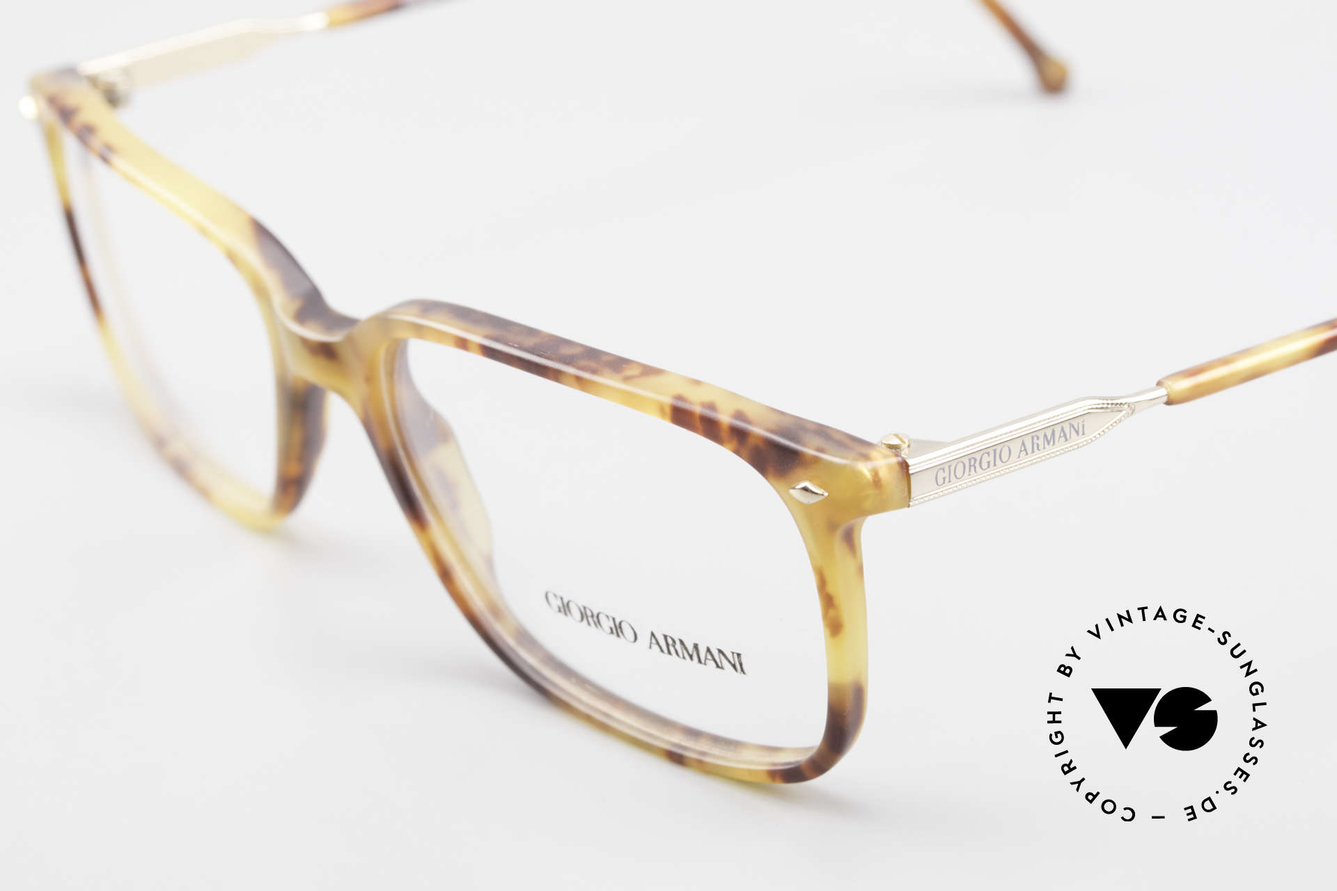 Giorgio Armani 332 True Vintage Eyeglass Frame, unworn (like all our vintage Giorgio Armani specs), Made for Men