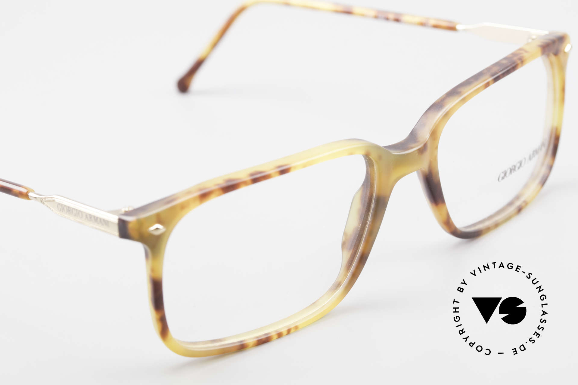 Giorgio Armani 332 True Vintage Eyeglass Frame, NO RETRO frame, but a rare 30 years old ORIGINAL, Made for Men