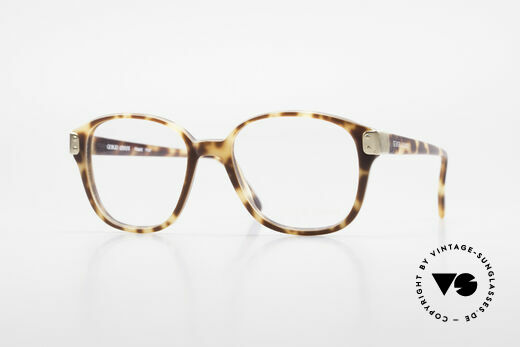 Giorgio Armani 307 Classic 80's Vintage Glasses Details