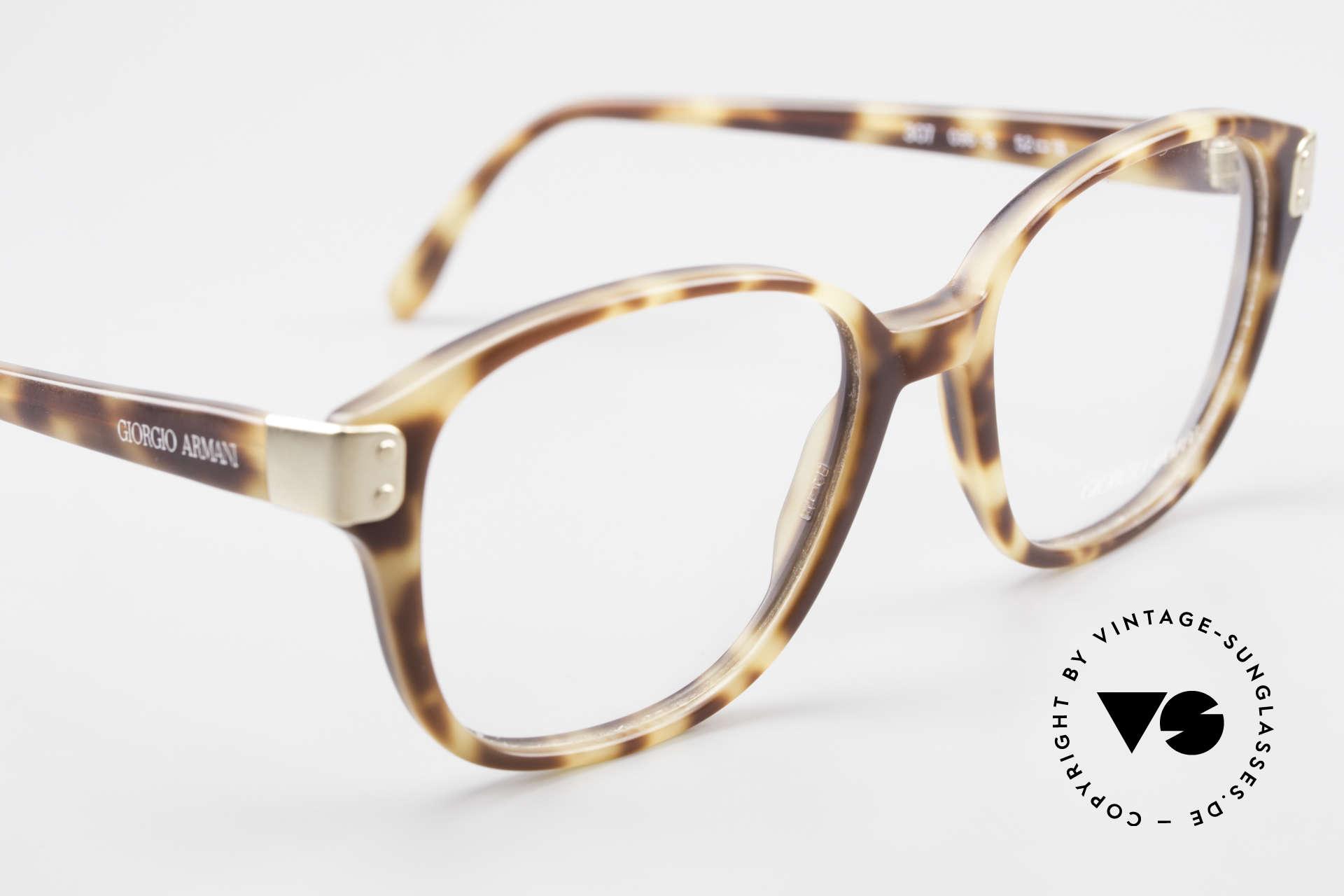 Giorgio Armani 307 Classic 80's Vintage Glasses, NO retro specs, but a unique 30 years old ORIGINAL!, Made for Men and Women