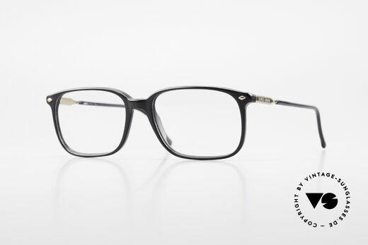 Giorgio Armani 332 80's Vintage Eyeglass Frame Details