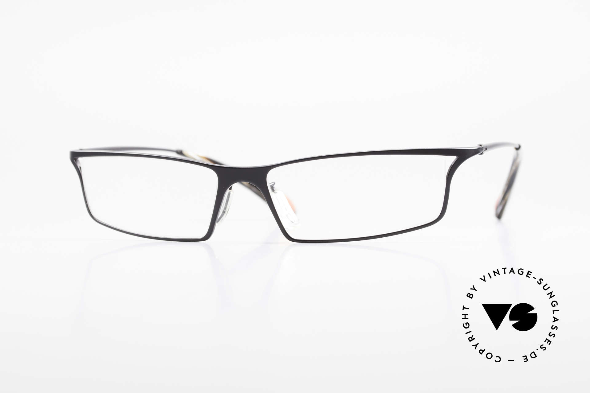 Bugatti 352 Odotype Heston Blumenthal Spectacles, original BUGATTI high-tech eyeglass-frame, Made for Men