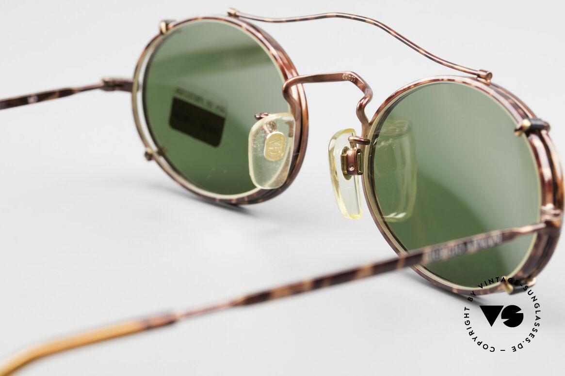 Giorgio Armani 128 Clip On Vintage Designer Frame