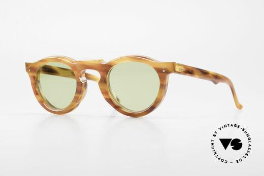 Lesca Panto 8mm Antique 1960's Sunglasses Details