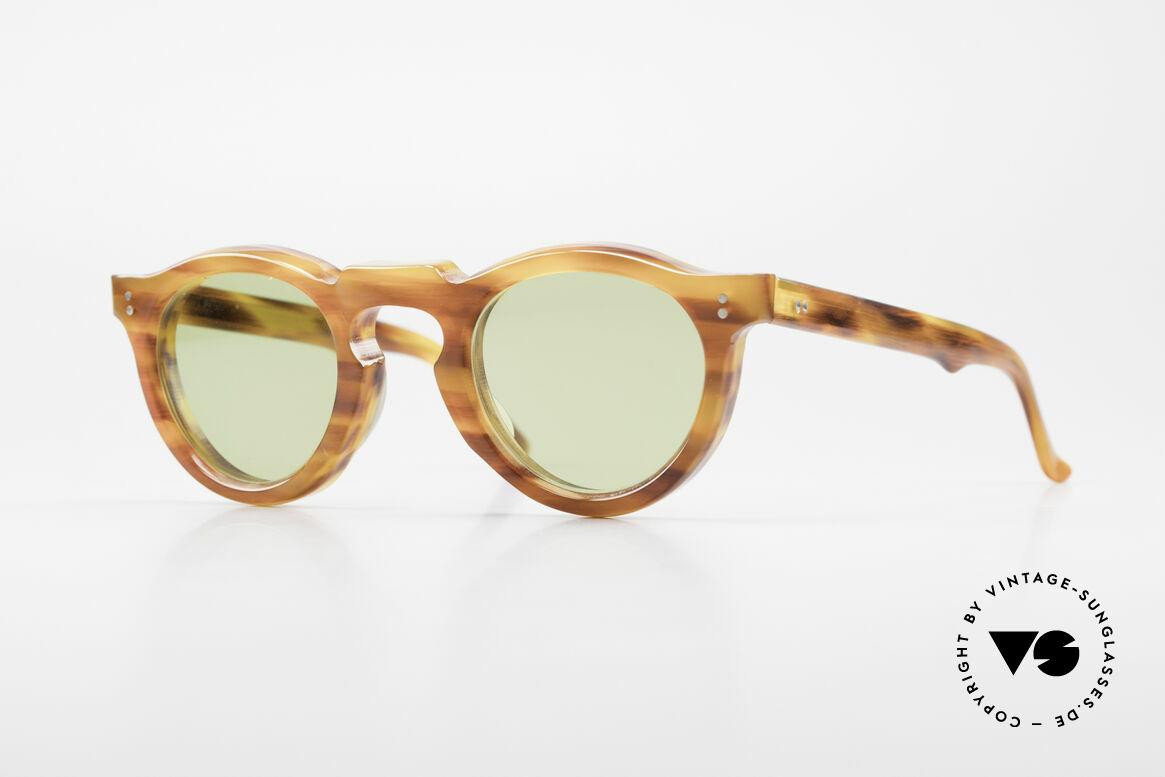 Lesca Panto 8mm Antique 1960's Sunglasses