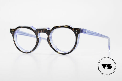 Lesca Panto 8mm Antique 1960's Eyeglasses Details