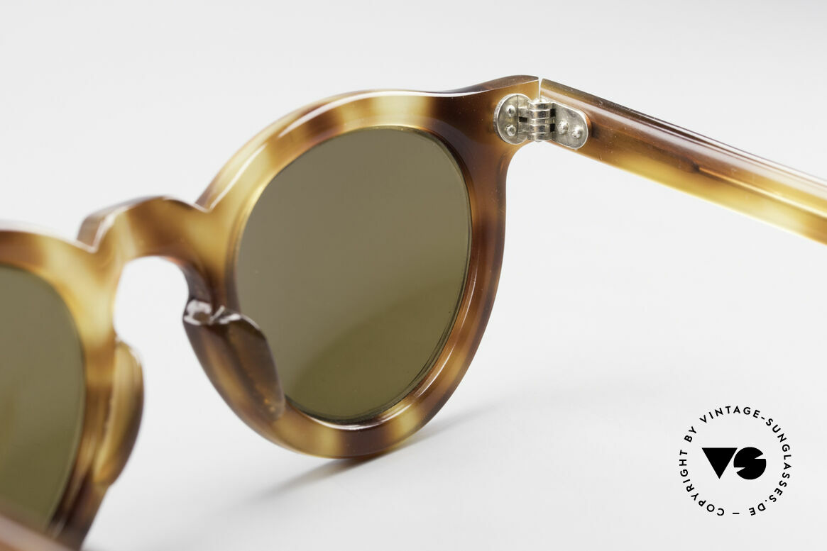 Lesca Panto 4mm Old 1960's Sunglasses France