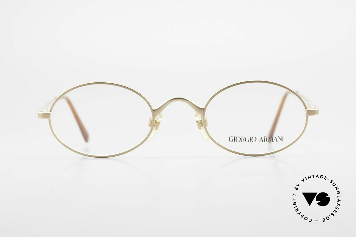 Giorgio Armani 122 Oval Vintage Designer Frame