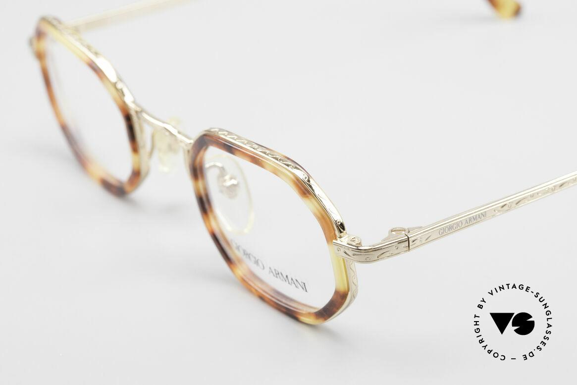 Giorgio Armani 143 Octagonal Vintage Eyeglasses
