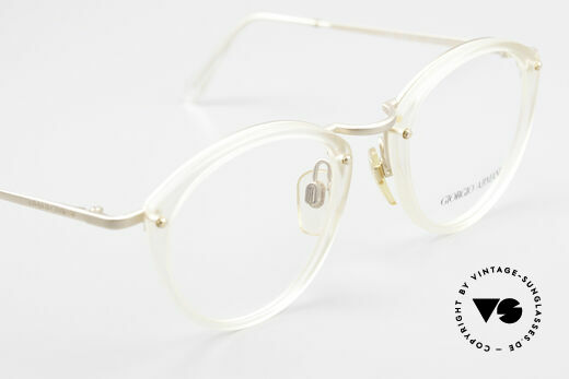 Giorgio Armani 354 80s Designer Glasses Vintage, demo lenses can be replaced with optical or sun lenses, Made for Men and Women