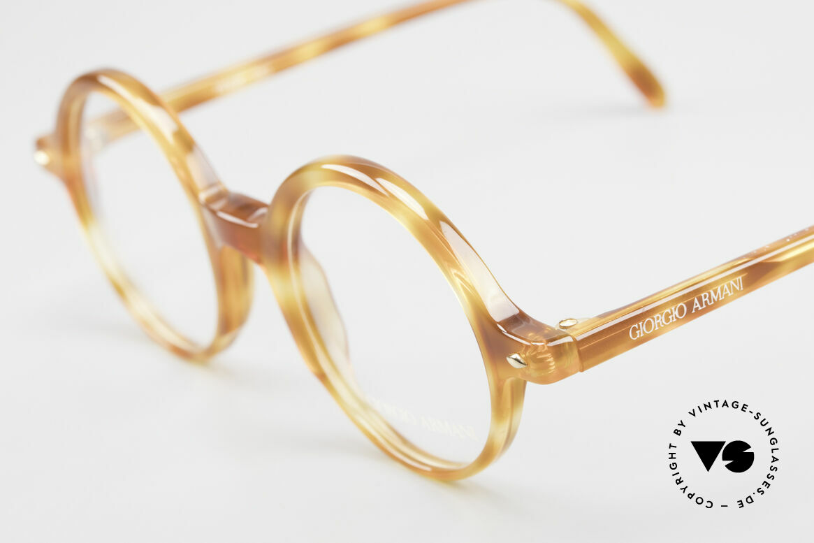 Giorgio Armani 319 Old 1980's Eyeglasses Round, never worn (like all our classic Giorgio Armani specs), Made for Men and Women