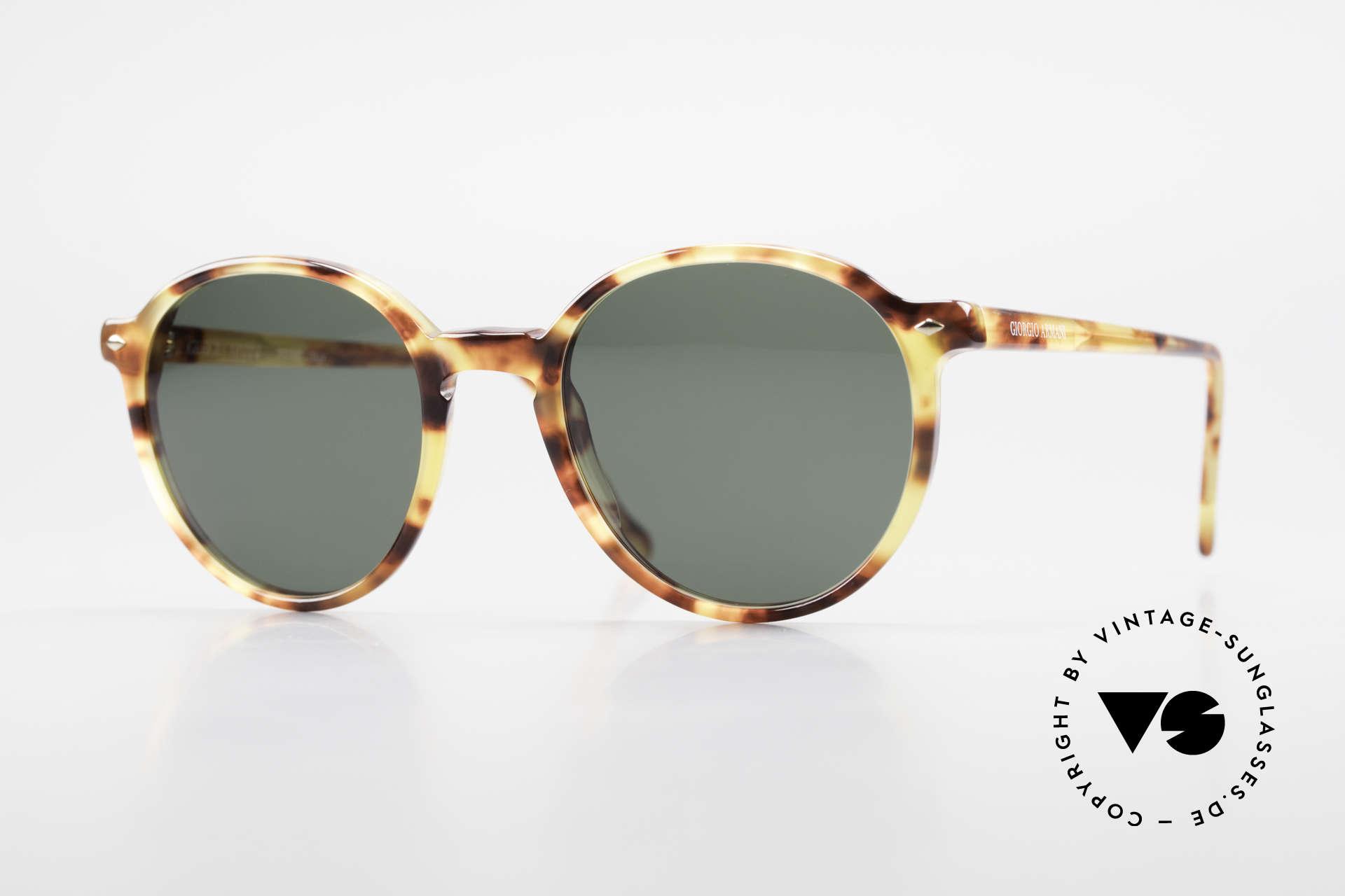 Giorgio Armani 325 Old Panto 90's Sunglasses, timeless vintage Giorgio Armani designer sunglasses, Made for Men and Women