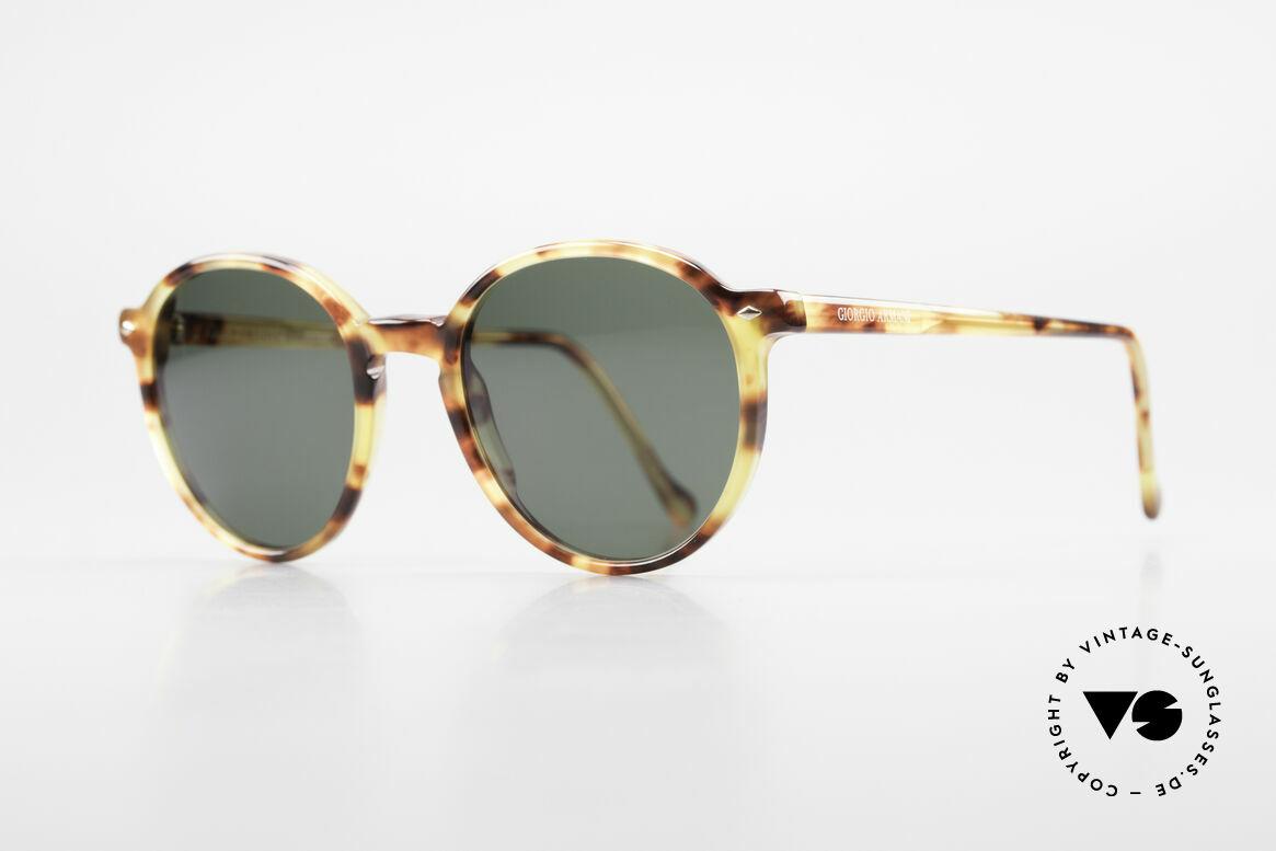 Giorgio Armani 325 Old Panto 90's Sunglasses, premium Italian craftsmanship & 100% UV protection, Made for Men and Women