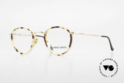 Giorgio Armani 159 Panto Glasses Windsor Rings Details