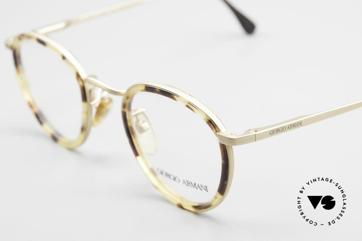 Giorgio Armani 159 Panto Glasses Windsor Rings, true 'gentlemen glasses' in tangible premium-quality, Made for Men