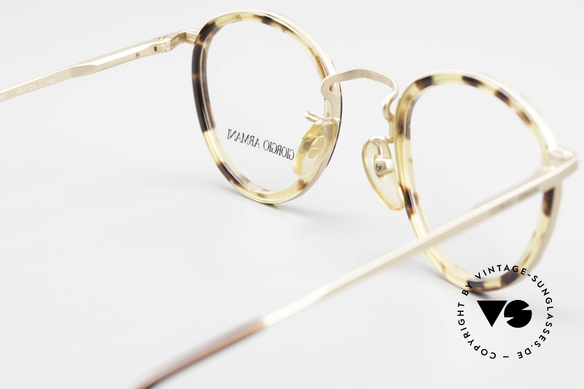 Giorgio Armani 159 Panto Glasses Windsor Rings, NO RETRO SPECS, but a unique 30 years old original!, Made for Men