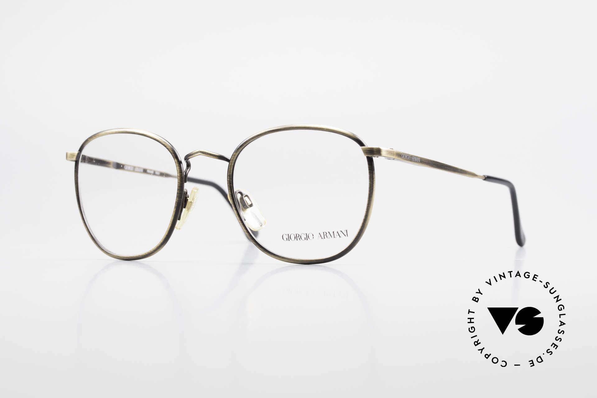 Giorgio Armani 150 Classic Men's Eyeglasses 80's, timeless vintage Giorgio Armani designer eyeglasses, Made for Men